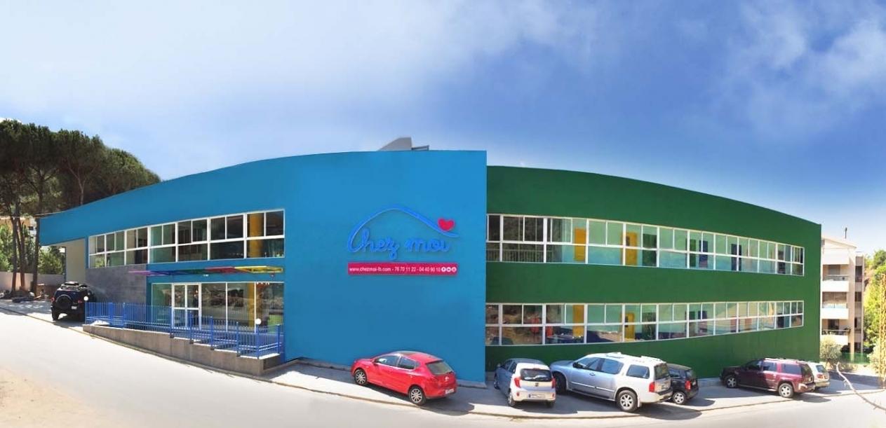 Unique building for kids