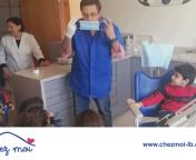 Grand merci à Dr. Nadim Eid d'avoir recevoir les enfants de la petite section dans sa clinique